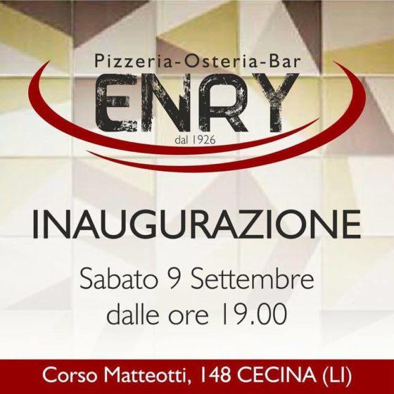Inaugurazione Enry